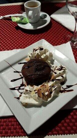 Pizzeria Vesuvio: moelleux au chocolat