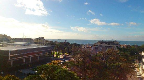 Hotel Alvorada: view to the sea and the casino