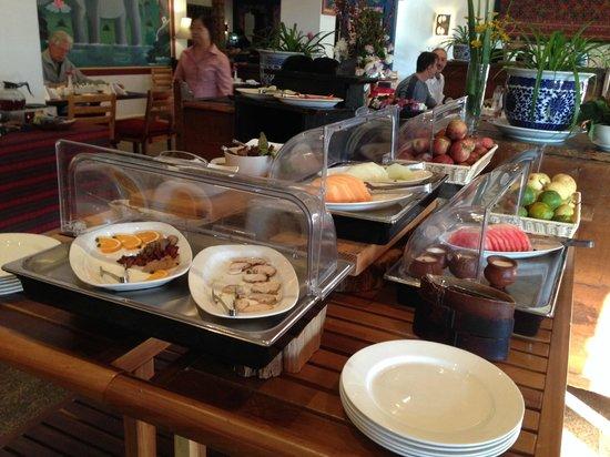 Zhiwa Ling: Breakfast buffet or part of it