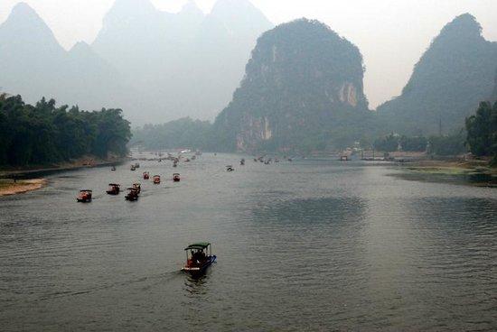 Yangshuo Park: Река Li