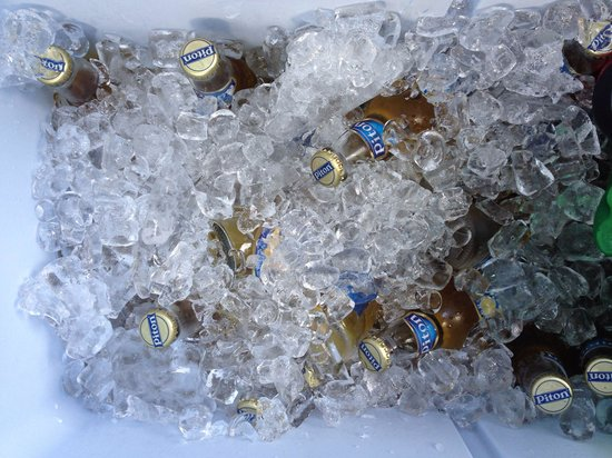 Thirst : Cold Piton Beer on a hot day!!!
