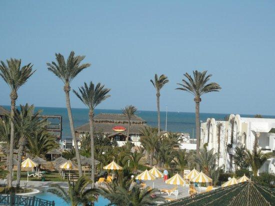 Djerba Holiday Beach : vue depuis la chambre