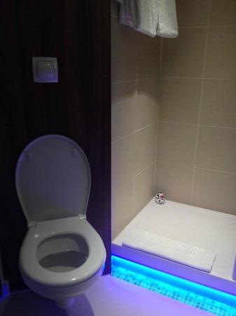 Mercure Wien City: Room 305 - Toilet and shower