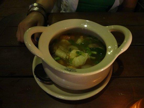 Alama cafe and restaurant: Tom Yum Soup