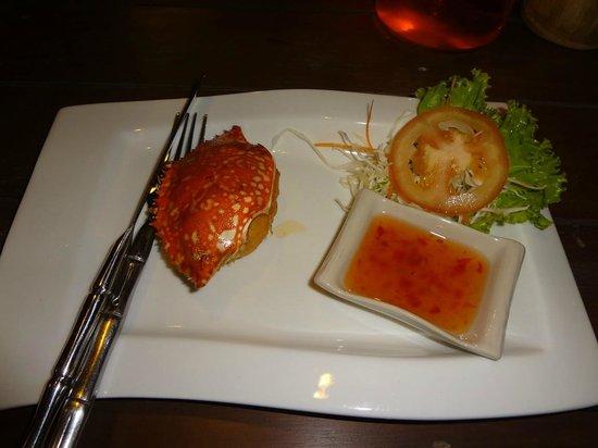 Alama cafe and restaurant: Crab Cake