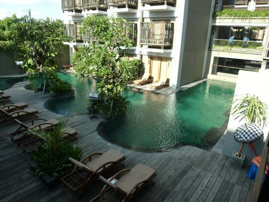 The Oasis Lagoon Sanur: Poolbereich
