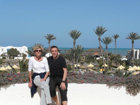 Djerba Holiday Beach : terrasse