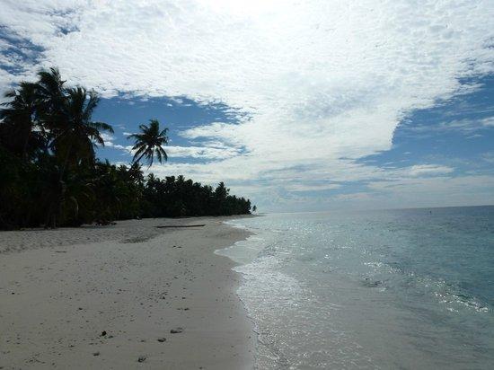 Filitheyo Island Resort : plage
