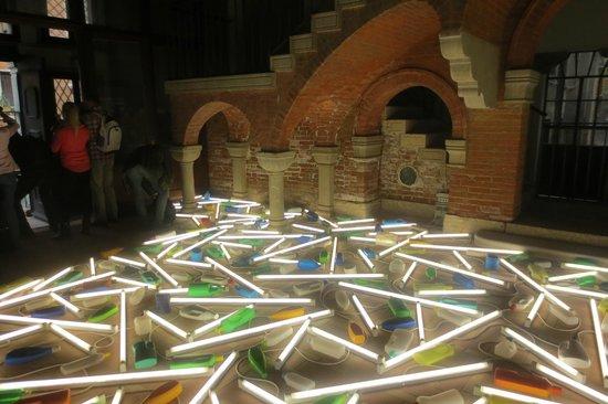 Biennale di Venezia: Lichtinstallation