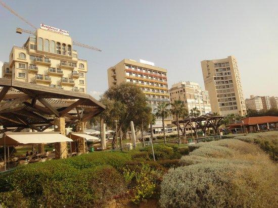 Residence Hotel: гостиница(среднее  здание)