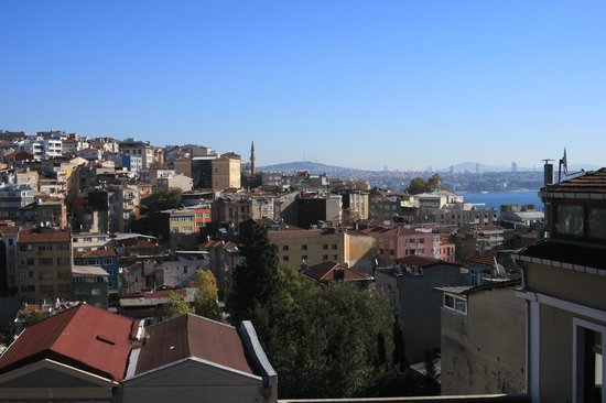 4Floors Istanbul: view from balcony, 3rd floor