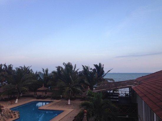 Best Western Plus Accra Beach Hotel: Balcony view
