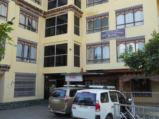 Bhutan Centennial Hotel : Front view