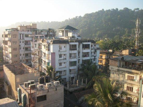 Pragati Manor: View from room 2