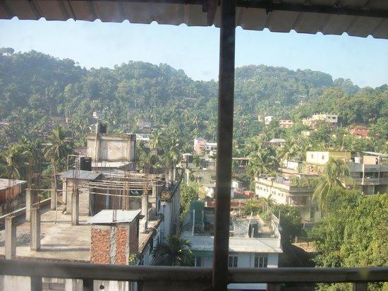 Pragati Manor: View from room 3
