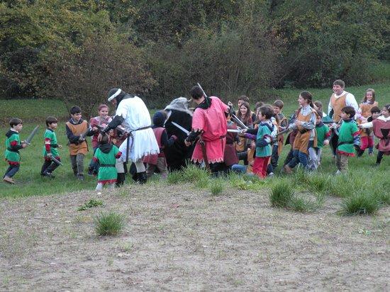 Gropparello Castle - Fairy Tales Park: la battaglia