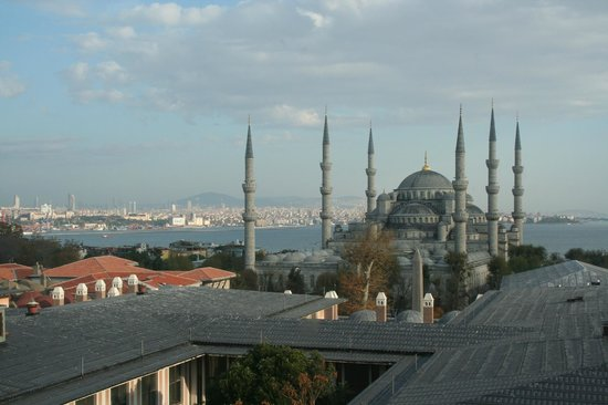 Sultanahmet Park Hotel: View from room 602