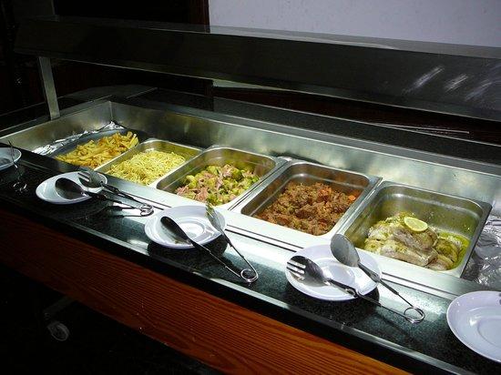 Casa del Sol: buffet tiède !
