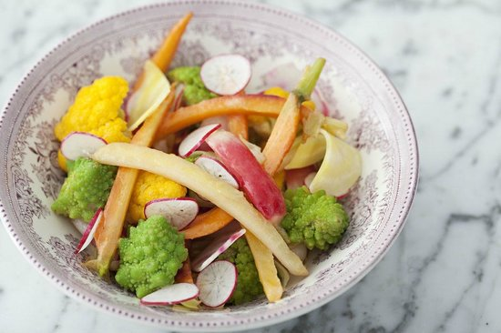 Jardiniere Raw Cooked Seasonal Vegetables Picture Of North