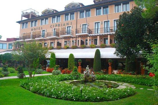 Belmond Hotel Cipriani: arrivando nel'albergo