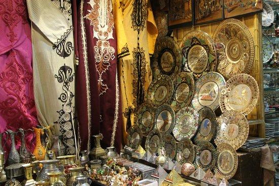"""Khan Al-Khalili: """"One of the many stalls"""""""