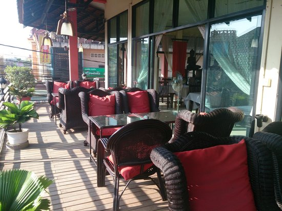 Heart of Angkor Guesthouse : ココで朝食をいただきました。