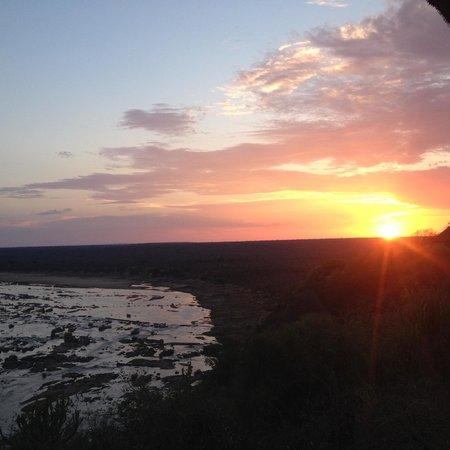 Olifants Rest Camp: Geweldige zonsondergang
