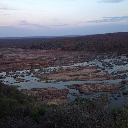 Olifants Rest Camp: Uitzicht vanaf terras