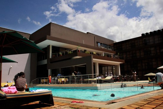 Boma Inn Eldoret: by the pool