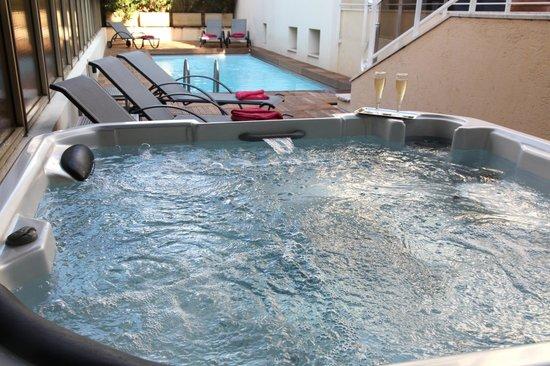 Hotel Cannes Gallia: Jacuzzi