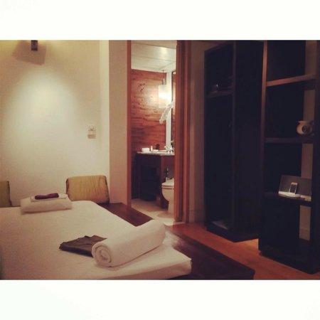 Grand Hyatt Erawan Bangkok: Spa room