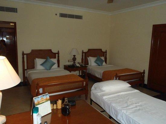 Taj Exotica Resort & Spa Goa: Номер с дополнительной кроватью