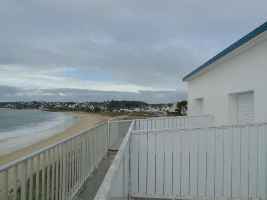 Hotel Au Roi Gradlon : Vue de la terrasse