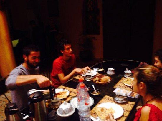 Riad Massin: Breakfast