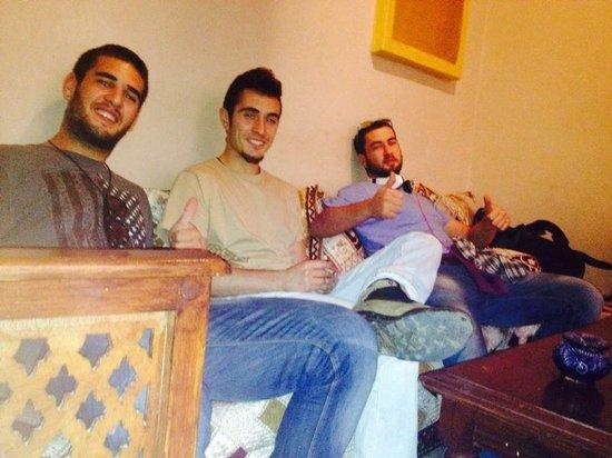 Riad Massin: Living room