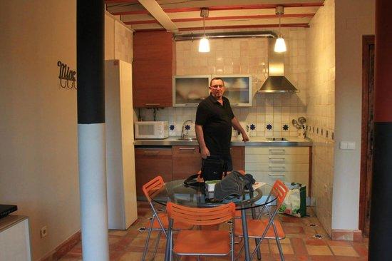 Apartamentos Señorío de Haro: Comedor-cocina,