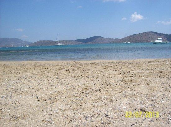 Hotel Aristea : Пляж Элунды