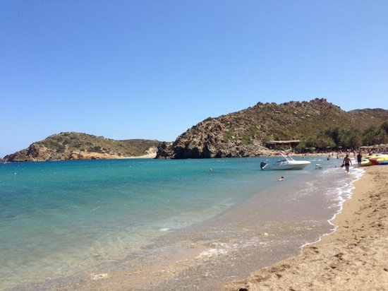 Hotel Aristea: Пляж Вай