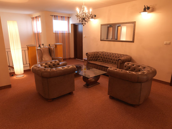 Al Faro Lodge: Lobby