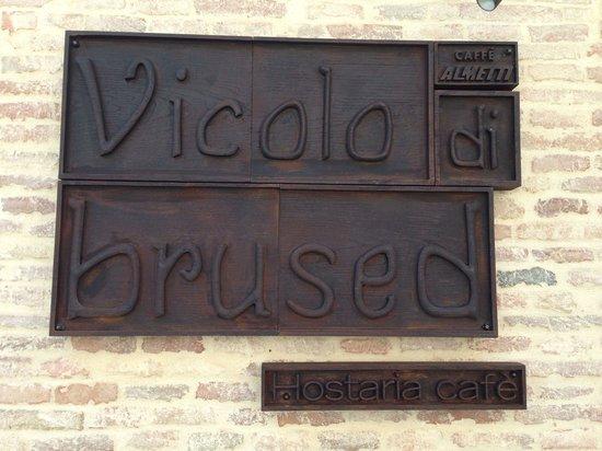 Vicolo di brused santarcangelo di romagna ristorante for Cucina 1 80