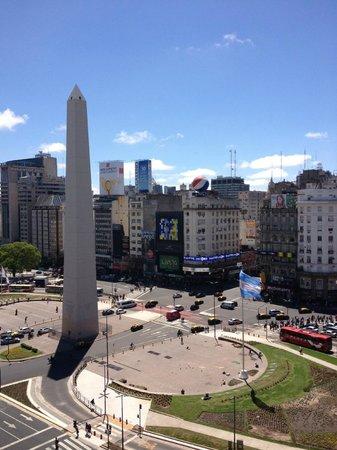 Park Silver Obelisco: Vista de día