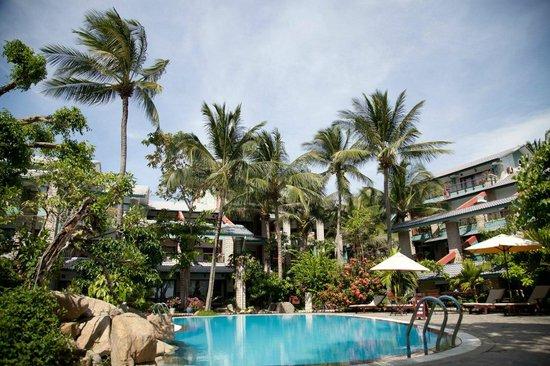 Hoang Ngoc Resort: Вид со стороны моря