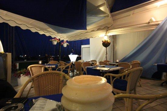 Sol y Luna - Puerto Mogán: Vista nocturna desde la terraza
