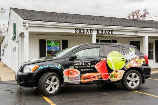 Not A Salad Lover Salad Kraze Avon Lake Traveller