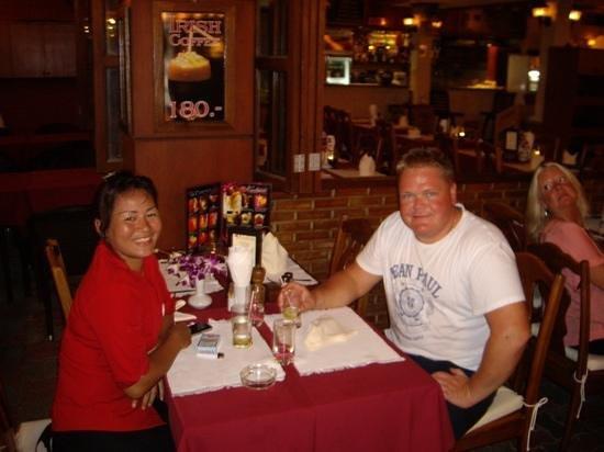 Karlsson Restaurant & Steak House: vennlige ansatte