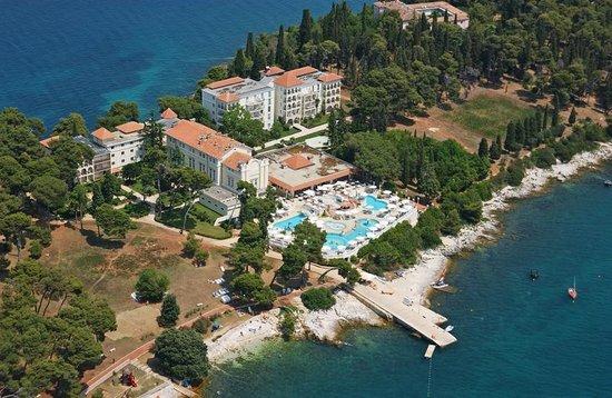 Island Hotel Katarina: Aerial view