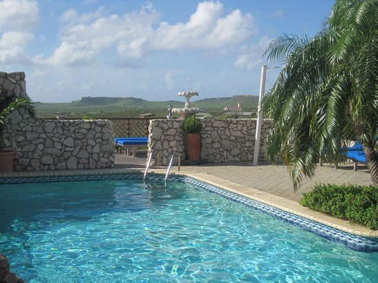 The Natural Curacao: Pool area view