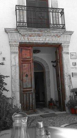 Casa Rural Hoyo Bautista: Entrée hacienda