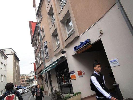 Citadines Strasbourg Kleber : Exterior