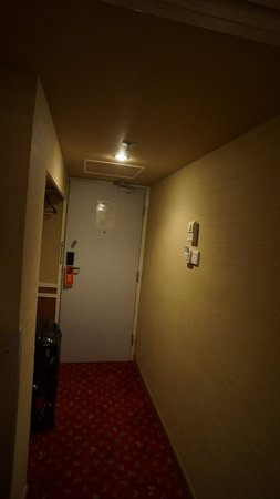 The Imperial Hotel: entance and suite big as a door.